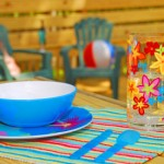 What do I look for when buying outdoor dinnerware?