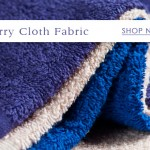 Fabric:  5 ways to wrap your home in the comfort of terry cloth