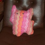 Candy Kitten was made with a pattern from Amy Butler's site.