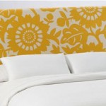 ABC's of Decorating:  U is for upholstered headboards