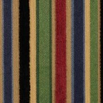 In this fabric by Robert Allen you can see how well cobalt blue works with other jewel tones. (fabric is called party stripe)