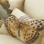 the nautral colors found in this butterfly pillow from Pottery Barn are really quite restful and soothing.