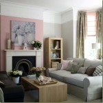 Trend alert:  The use of the color of the year, pink, on the walls; gray furniture (not really a trend anymore), light wood tones