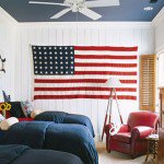 Home Decor:  Red, white and blue for Memorial Day and beyond