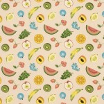 High point market trends Spring 2011- bold fruit patterned fabric