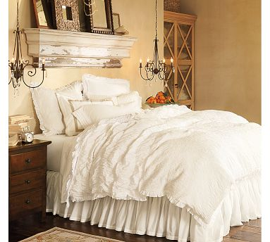 another romantic bedroom this one courtesy of pottery barn that