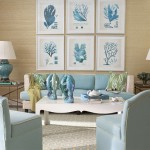 Gallery of sea life photos in this room design by Meg Braff