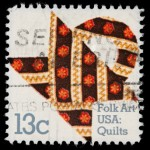 The United States Postal Service saluted America's quilt makers in this stamp.