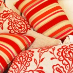 Colorful pillows are easy to make and add style to your home.