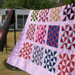 Quilts with Solid Color Fabrics