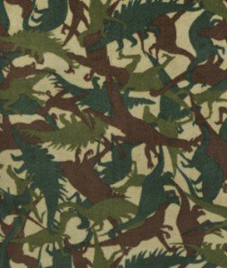 Fun fleece camouflage dinosaurs space trucks and more for Spaceship fleece fabric