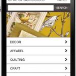 OnlineFabricStore.net Mobile Site