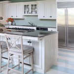 Benjamin Moore's Wythe Blue used in kitchen design by Tobi Fairley