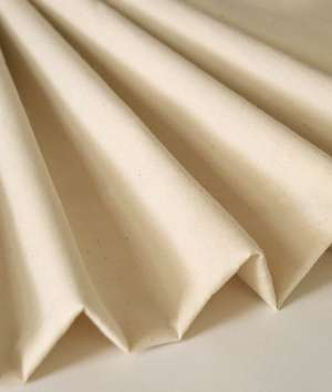 """This 125"""" wide unbleached muslin is an ideal foundation for a crazy quilt."""
