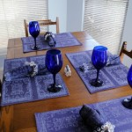 Making Simple Napkins and Placemats