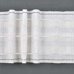 Pencil pleat drapery tape.