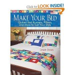 Book Review--Make Your Bed: Quilted Bed Runners, Pillows, and More to Suit Your Style by Leslee Evans