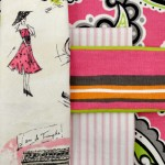 An array of pink fabrics carried by OFS.