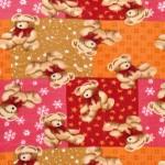 Red Teddy Bear Fleece