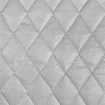 Silver Quilted Therma-Flec is heat resistant and ideal for insulating potholders and other items.