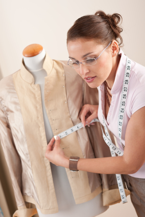 Accurate measurements are a must throughout the sewing process.