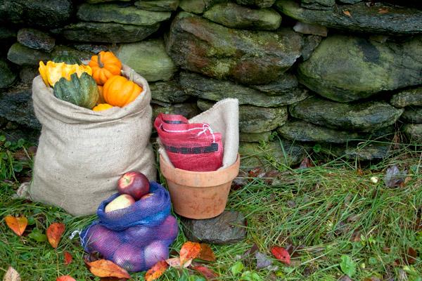 Burlap and jute for fall winter gardening tasks blog - Fall gardening tasks ...
