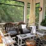 Eclectic Porch design by Dc Metro Interior Designer DECORATING DEN INT. SHELLEY RODNER C.I.D.