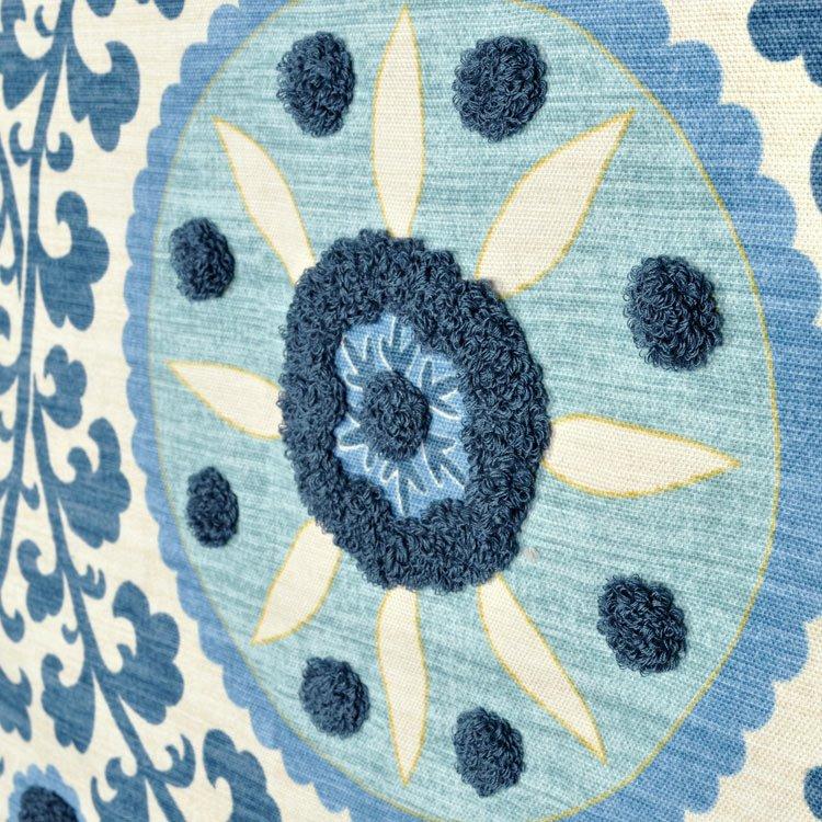3 Park Tribal Thread Azure Fabric