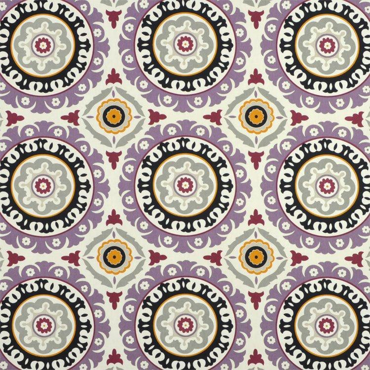 Waverly Solar Flair Onyx/Lilac Fabric