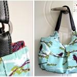 DIY Vinyl Handbag Strap (Tutorial)