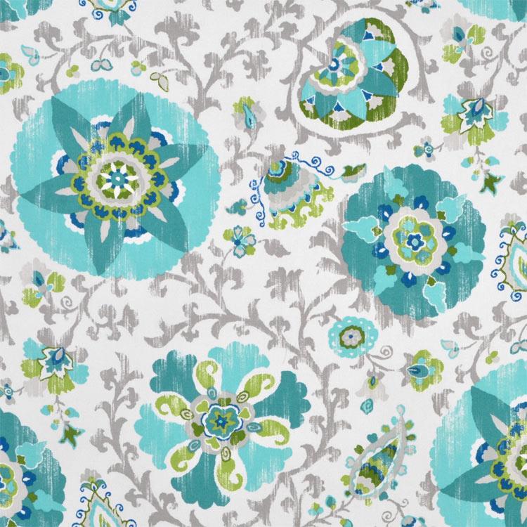 P. Kaufmann Ladbroke Cir Peacock Fabric