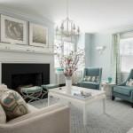 Blue Living Room Inspiration