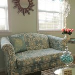 Before & After: A Reupholstered Loveseat