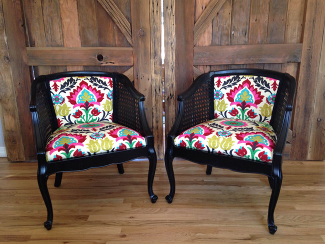 Ofs All Stars Project Reupholstered Chairs