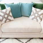 Before & After: A Microsuede Loveseat