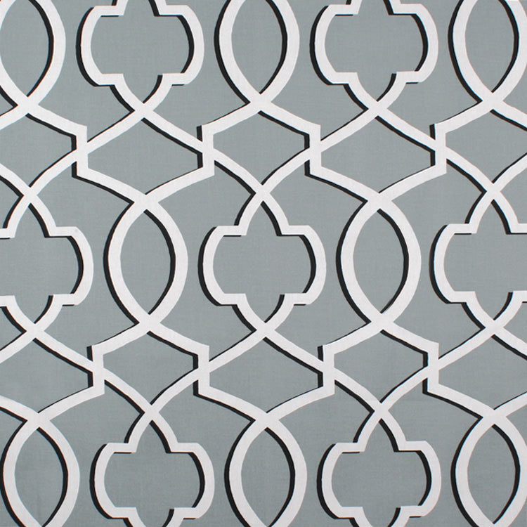 Premier Prints Morrow Cool Grey Fabric