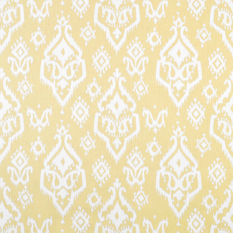 Premier Prints Raji Saffron Yellow Macon Fabric