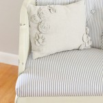 Upholstered Tufted Cane Chair Tutorial