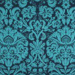 Amy Butler Acanthus Teal Fabric