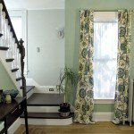 How to Sew Lined Back Tab Curtains