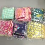 Fabric Giveaway Winners!