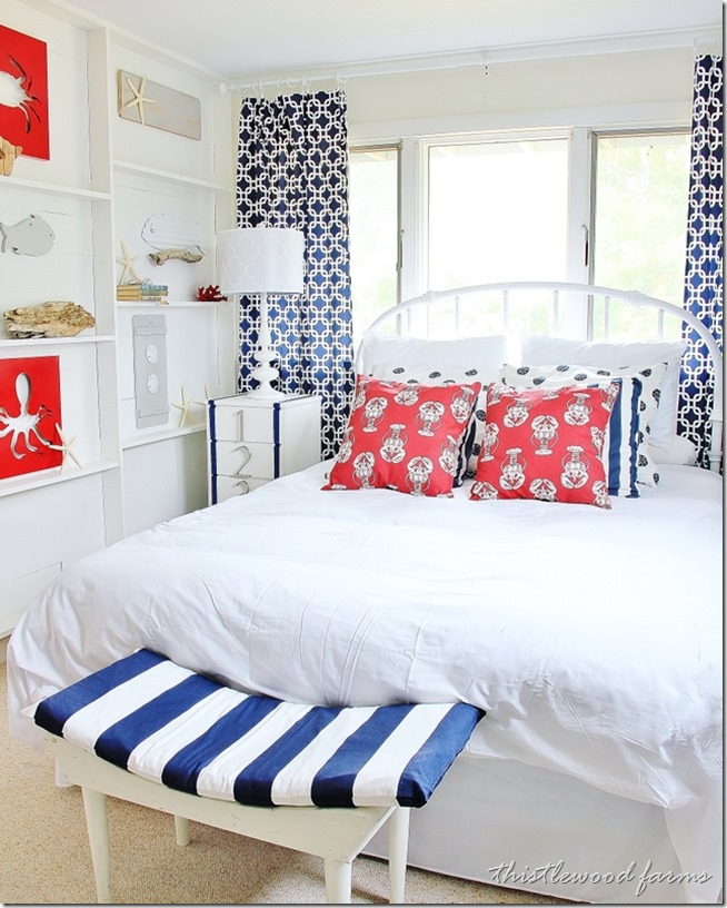 Beach House Bedroom Ideas: Before & After: Beautiful Beach Bedroom