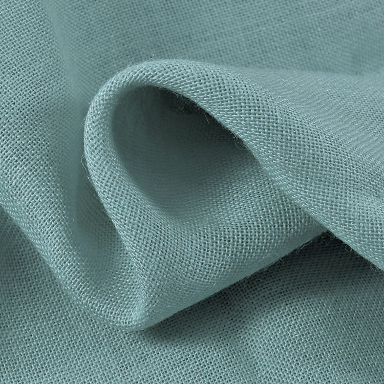 Light Blue Sultana Burlap Fabric