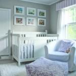 Purple & Gray Nursery Inspiraion