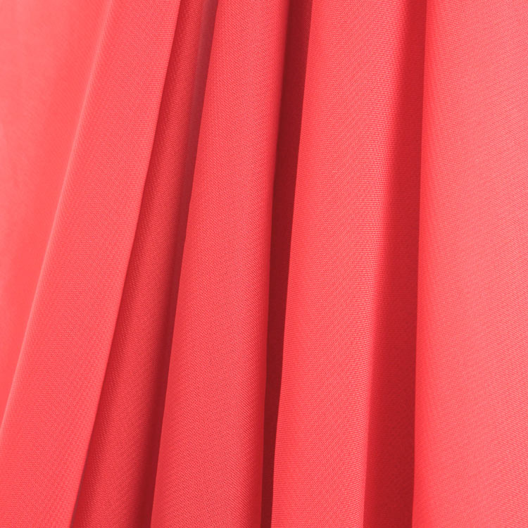Coral Chiffon Fabric