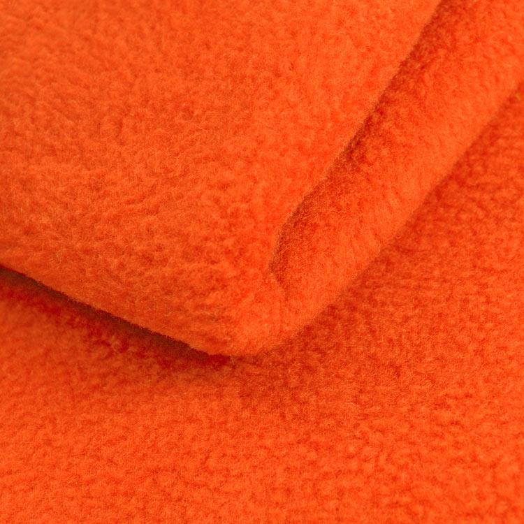 Orange Fleece Fabric