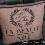 OFS All Stars: French Grain Sack Cushion