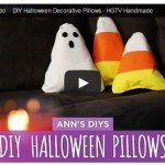 Handmade Halloween Pillow Tutorial