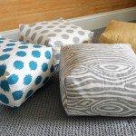 Box Cushion Floor Pillow (Video Tutorial)