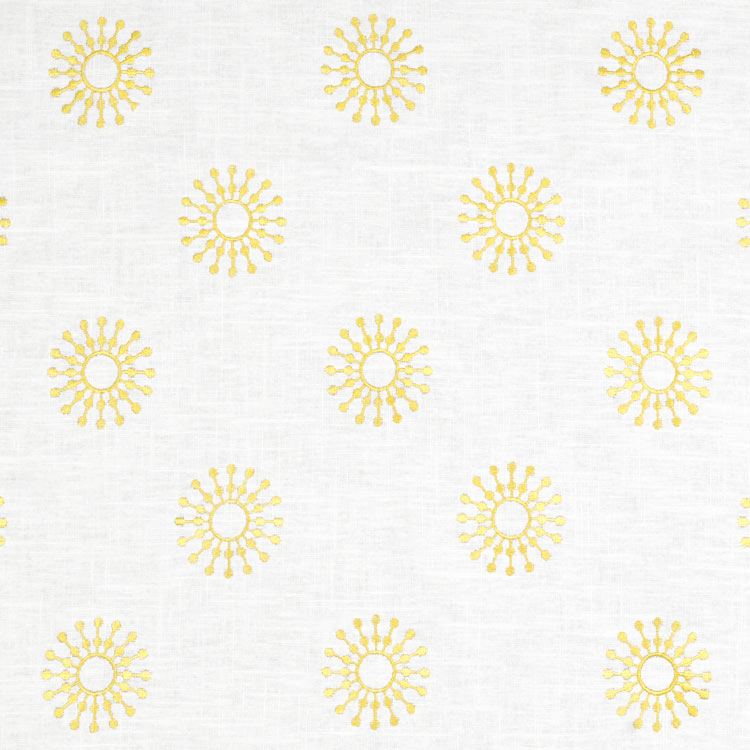 Suburban Home Ramdsen Yellow Fabric
